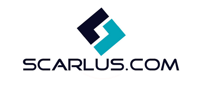 The final logo of Scarlus